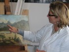 A project sponsored by the Friends of the  Turnbull Library was the  conservation of oil paintings in the Turnbull Library. View more.